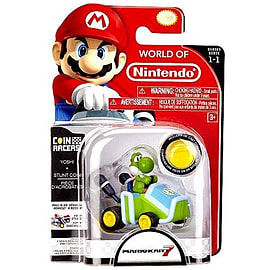 Super Mario Coin Racers - Yoshi Figurines and Sets