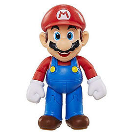 Nintendo 4-inch Figures Mario with Power Up Accessory Figurines and Sets