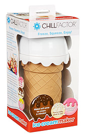 Chill Factor Ice Cream Maker - VANILLA PINK Traditional Games