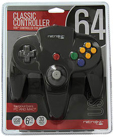 Nintendo 64 Classic USB Enabled Wired Controller for PC and MAC Retro Consoles