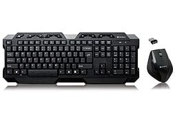 Sandberg Wireless Keyboard Set with Mouse (Nordic) PC