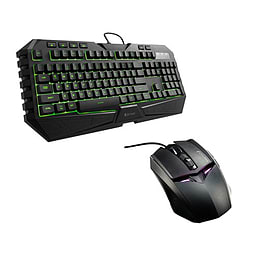 Cooler Master Cm Storm Octane Multi Led Gaming Keyboard And Mouse Bundle PC