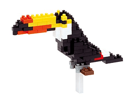 Nanoblock Toucan Figurines and Sets