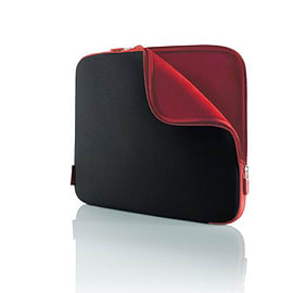 Neoprene Sleeve for Notebooks up to 17', Jet/Cabernet Tablet