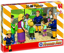 Fireman Sam 35pcs Puzzle Assorted Traditional Games