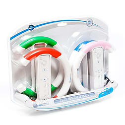 CoolGear Race Wheel 4 pack Wii