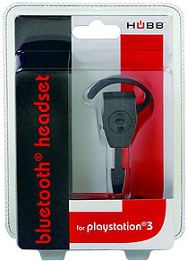 Hubb PS3 Bluetooth Headset - Black PS3