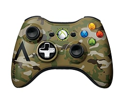 Official Xbox 360 Wireless Controller - Special Edition Cammo XBOX360