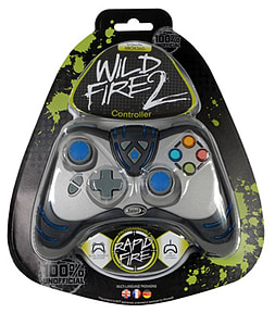 Datel WildFire 2 Controller - Black (Wired) XBOX360