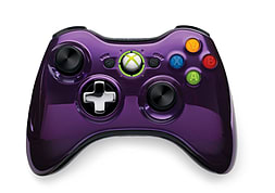 Microsoft Xbox 360 Wireless Controller - Chrome Purple XBOX360