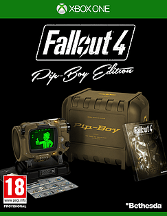 Fallout 4 Pip-Boy Edition XBOX ONE Cover Art