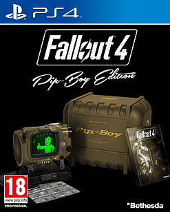 Fallout 4 Pip-Boy Edition PS4 Cover Art