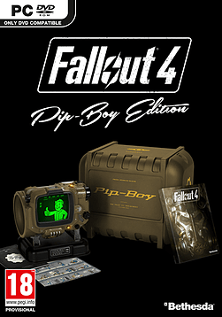 Fallout 4 Pip-Boy Edition PC Games Cover Art