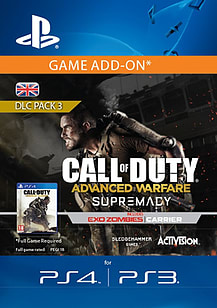 Call of Duty: Advanced Warfare Supremacy PlayStation 4