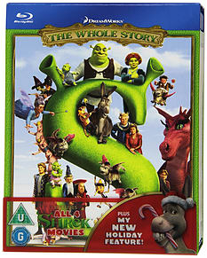 Shrek Quadrilogy - The Whole Story Blu-ray