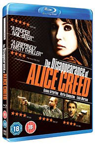 Disappearance of Alice Creed Blu-ray
