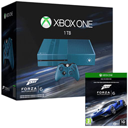 Xbox One Console With 1TB Hard Drive & Forza 6 Download Xbox One