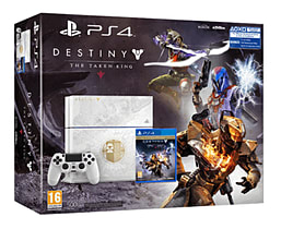 White PlayStation 4 With Destiny: The Taken King PlayStation 4