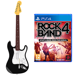 Rock Band 4 Fender Stratocaster Guitar Software Bundle PlayStation 4