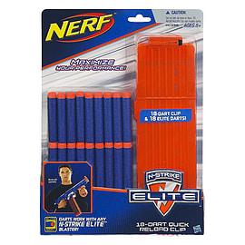 Nerf N-Strike Elite 18-Dart Quick Reload Clip Figurines and Sets