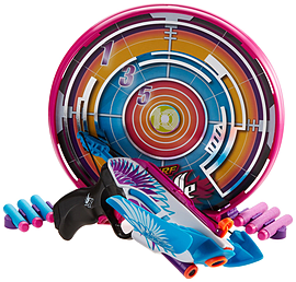 Nerf Rebelle Star Shot Figurines and Sets