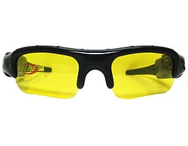 Nerf Super Spy 1.3mpx Video Camera Sunglasses Recorder (nfa005z) Figurines and Sets