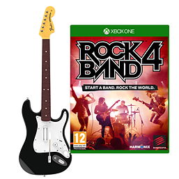 Rock Band 4 Fender Stratocaster Guitar Software Bundle Xbox One
