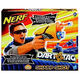 Nerf Dart Tag Sharp Shot Figurines and Sets