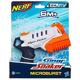Nerf Supersoaker Micro Burst Figurines and Sets
