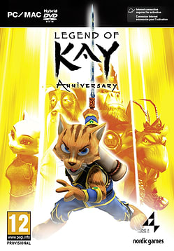 Legend of Kay HD PC Games Cover Art