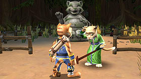 Legend of Kay HD screen shot 2
