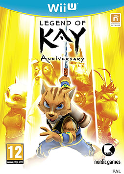 Legend of Kay HD Wii U Cover Art