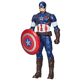 Marvel Avengers Age Of Ultron Electronic Captain America Titan Hero Figure Figurines and Sets