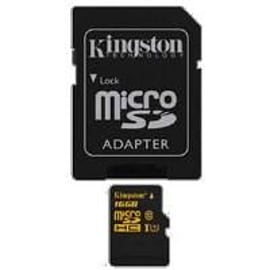 Kingston (16gb) Uhs-i Microsdhc Card (class 10) With Adaptor Mobile phones