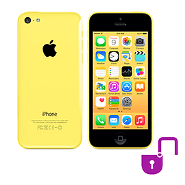 iPhone 5C 8GB Yellow (Grade A) Unlocked Electronics