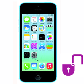 iPhone 5C 8GB Blue (Grade A) - Unlocked Electronics