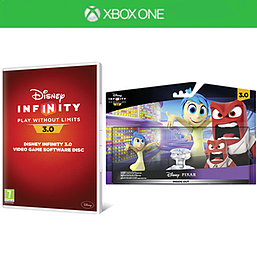 Disney Infinity 3.0 Software Disc with Inside Out Play Set Bundle and Toy Box Takeover Expansion Game Piece Xbox One