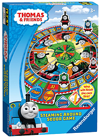 Thomas and Friends Steaming Around Sodor Game Pre School Toys