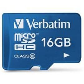 Verbatim Tablet Microsdhc Card 16gb With Sd Card Adapter Mobile phones