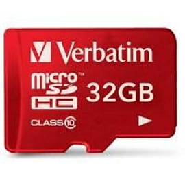 Verbatim Tablet Microsdhc Card 32gb With Sd Card Adapter Mobile phones
