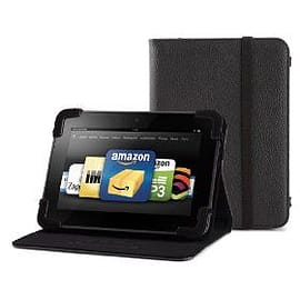 Belkin Standing Leather Case For Kindle Fire/ Kindle Fire Hd In Black Tablet
