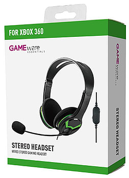 GAMEware Xbox 360 Stereo Headset Accessories