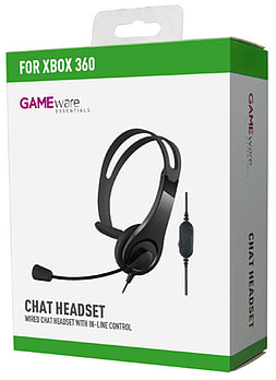 GAMEware Xbox 360 Chat Headset Accessories