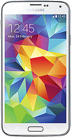 Samsung Galaxy S5 16GB - Shimmery White - Unlocked B Phones
