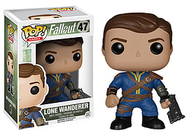 POP! Vinyl Fallout Lone Wanderer Male Toys and Gadgets