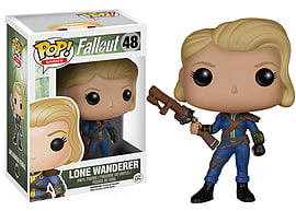 POP! Vinyl Fallout Lone Wanderer Female Toys and Gadgets