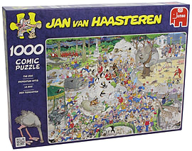 Jan Van Haasteren The Zoo Puzzle (1000 Pieces) Traditional Games