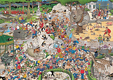 Jan Van Haasteren The Zoo Puzzle (1000 Pieces) screen shot 1
