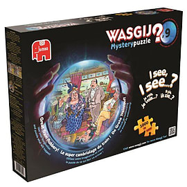Wasgij Mystery No 9 Train Robbery Puzzle (1000 pieces)