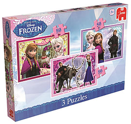 Disney Frozen Trio Jigsaw Puzzles Traditional Games